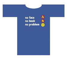 Originální tričko s potiskem NOFACE NOBOOK NOPROBLEM